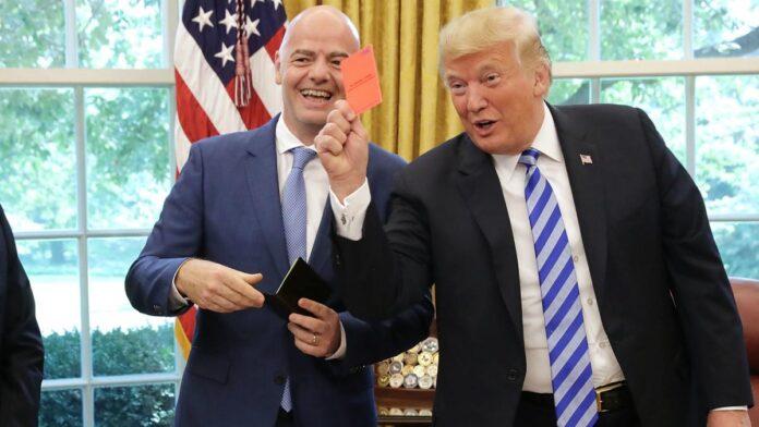 Campionatul Mondial de Fotbal 2026. Giani Infantino, presedintele FIFA, s-a intalnit cu Donald Trump