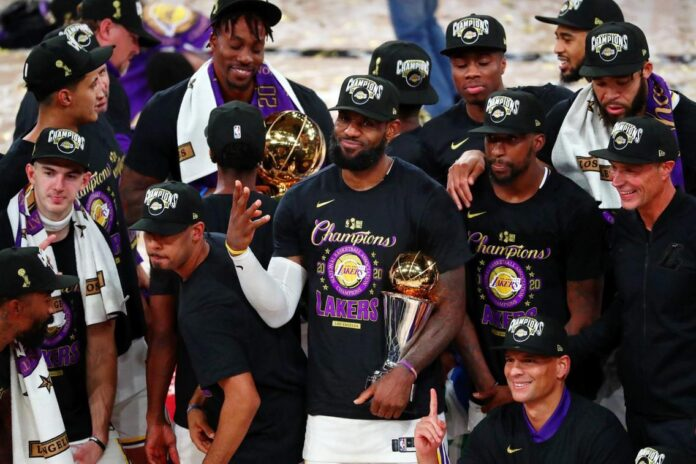 LA Lakers - campionii NBA, tribut emotionant pentru Kobe Bryant