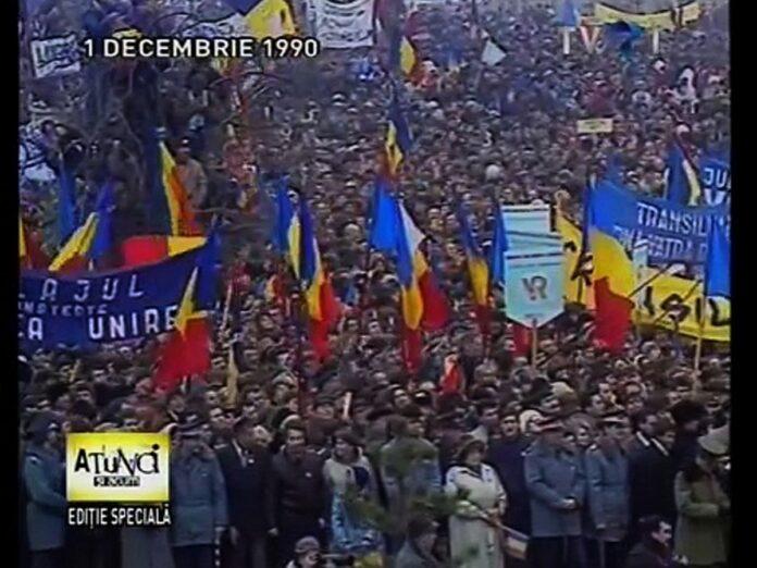 1 decembrie 1990. Cum a sarbatorit Romania atunci ziua nationala dupa sfarsitul regimului comunist?