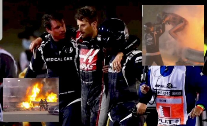 Romain Grosjean, accident teribil. Cum a reusit sa scape si ce mesaj le-a transmis fanilor?