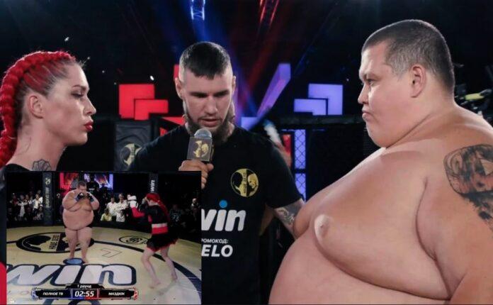 Lupta istorica MMA: Darina contra lui Grigory